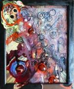 tableau matiere mouvement poetique : Olhos d'agua 3