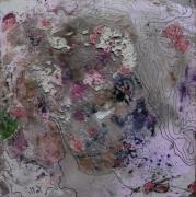 tableau abstrait matiere mouvement poetique : Crunch