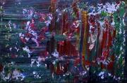 tableau abstrait matiere energie poetique : Falaises à flots
