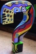 autres abstrait rigolo multicolore abstrait deco : Koa