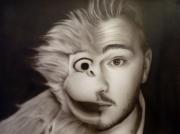 tableau personnages jeff panacloc celebrite aerographie humouriste : Jeff Panacloc