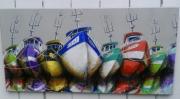tableau : Bateaux a quai 3