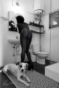 photo nus intimite animal chien : Anima