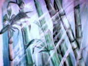 tableau : bambou