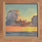 tableau paysages paysage ciel nuage expressionnisme : MORCEAU DE CIEL I