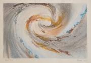 tableau paysages galaxie univers abstrait expressionnisme : GALAXIE IV