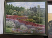 tableau paysages arbres bruyere chamberet arboretum : arboretum de chamberet