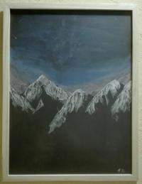 Montagne étoilée