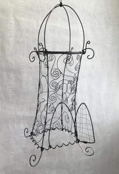 DéCO, DESIGN Cage oiseau arabesque moyen orient  - Cage byzantine