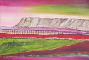 mixte paysages provence sainte victoire aix en provence moderne : la Montagne Sainte Victoire