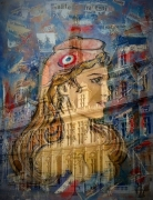 art numerique villes marianne paris mairie : Marianne et Paris
