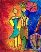 tableau personnages madame monsieur ballade couleur : Madame Monsieur