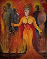 La violoniste