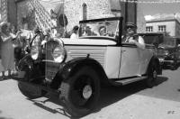 Vieille demoiselle Peugeot