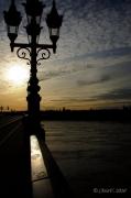 photo villes contrejour pont bordeaux : Pont de pierre (2), Bordeaux