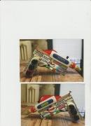 autres autres le pistolet art but de decoration : Le pistolet d'alarme de rasoir