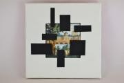 artisanat dart autres cadre photo chassis entoile contemporain et orig : CADRE PHOTO
