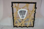 artisanat dart autres cadre photo chassis en bois travail du bois contemporain et orig : CADRE PHOTO