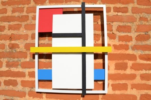 ARTISANAT D'ART DECORATION MURALE 3D ABSTRAIT TRAVAIL DU BOIS ARTI CONTEMPORAIN ET ORIG Abstrait  - SILHOUETTE 3D