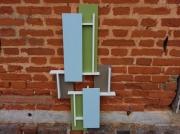artisanat dart abstrait decoration murale 3d silhouette 3d travail du bois arti contemporain et orig : SILHOUETTE 3D