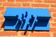 artisanat dart abstrait skyline travail du bois artisanal contemporain et orig : SKYLINE