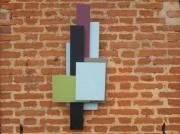 artisanat dart abstrait decoration murale 3d travail du bois arti contemporain et orig silhouette 3d : SILHOUETTE 3D