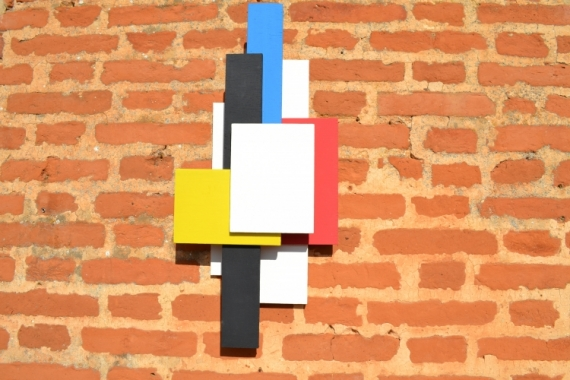 ARTISANAT D'ART DECORATION MURALE 3D APPLIQUE TRAVAIL DU BOIS ARTI CONTEMPORAIN ET ORIG Abstrait  - SILHOUETTE 3D