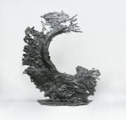 sculpture marine mer eau acier abstrait : Shore-break