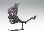 sculpture animaux coq animaux acier soude : Coq