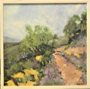 tableau paysages lavandes provence : lavandes