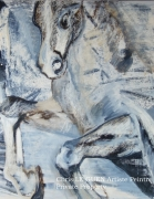tableau animaux cheval animaux animal pigments : Cheval N°8