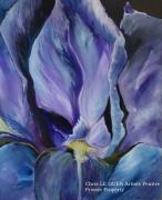 tableau fleurs fleur primaires peinture acrylique : Primaire XXX