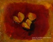 tableau fleurs fleur peinture huile pigments : Primaire XXXX