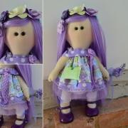 art textile mode personnages : Marilou