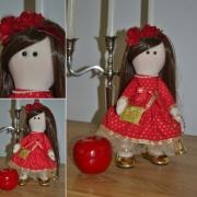 art textile mode personnages : Emilie