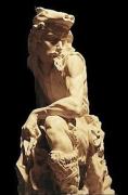 sculpture personnages robin des bois locksley foret arc : Robin Des Bois