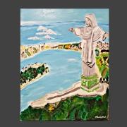 tableau paysages rio corcovado : RIO