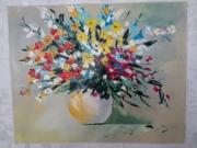 tableau fleurs : Multiples couleurs