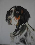 tableau animaux : chien de chasse