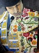 tableau personnages : Castella toréro français avec capote
