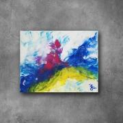 tableau abstrait ocean vague esprit tache : abstrait1