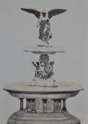 tableau architecture fontaine bethesta new york central park : Fontaine Bethesta