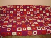 art textile mode couleurs fleurs noel cadeaux : couvre-lit/PLAID