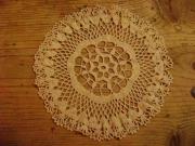 art textile mode fleurs dentelle crochet cadeaux cadeaux : napperon 3