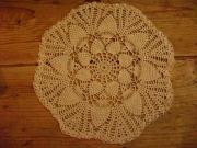 art textile mode autres dentelle fleur cadeaux noel : napperon 5
