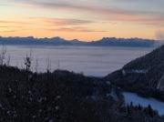photo paysages alpes aube suisse : Alpes