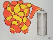 tableau autres street art express exprime bombe : Exprime-toi