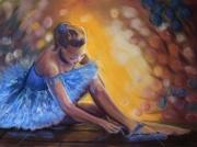 tableau personnages danse danseuse : la danseuse bleue