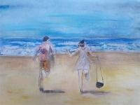 Deux sur la plage