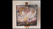 tableau abstrait : Explosions